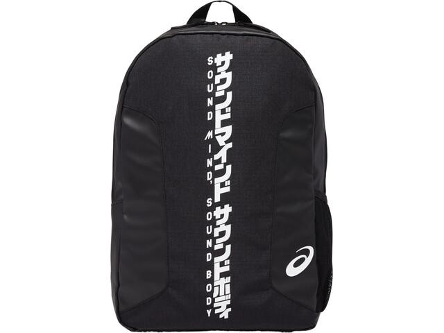 asics Katakana Backpack, czarny